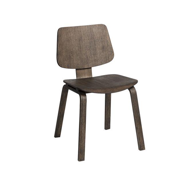 Note stol svartoljad i ek
