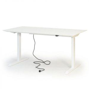 Slimmi desk höj och sänkbart skrivbord från Muurame vitt