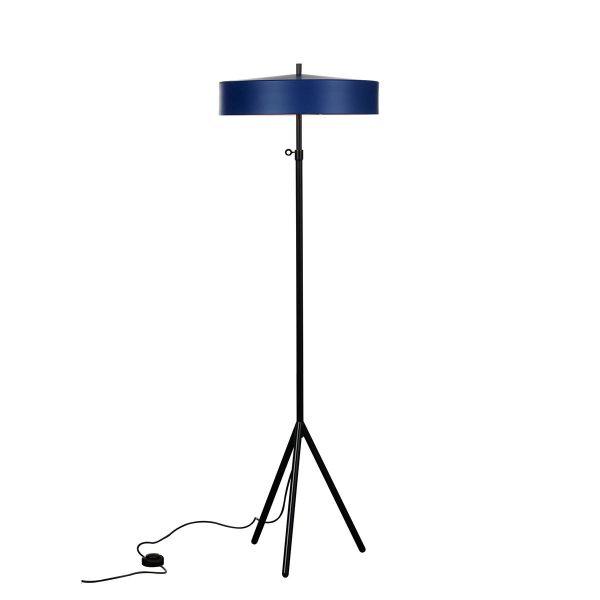bsweden cymbal golvlampa blå