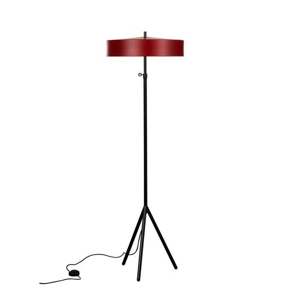 bsweden cymbal golvlampa röd