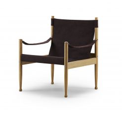 Safari chair 61x61 cm oak natural oiled Canvas 01 1 613556
