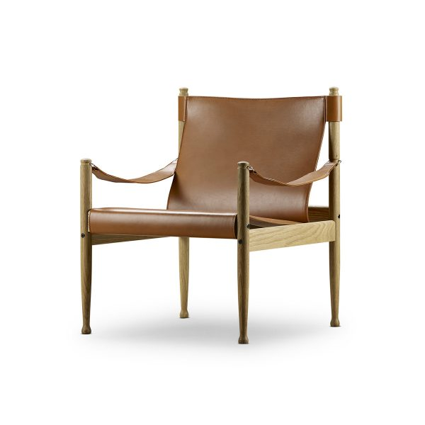 safari stol med oljad ek