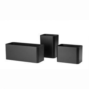 String behållare x3 svart