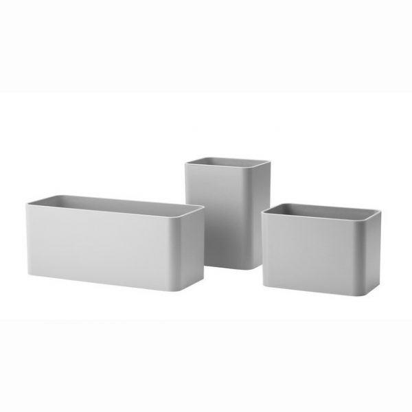 String behållare x3 grå
