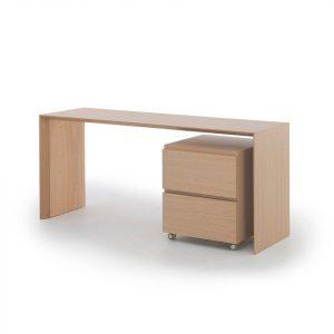 Muurame Slimmi desk med lådmodul ek
