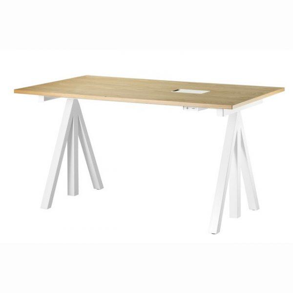 String ek höj och sänkbart skrivbord 140x78cm