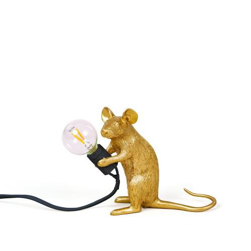 Mac-Sitting-Seletti-mouse-gold