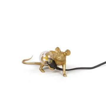 Lop-lying-mouse-Seletti-gold