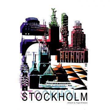 Mitt Stockholm affisch