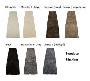Lamino fårskinn Swedese