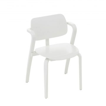 Artek Stol Aslak Chair vit
