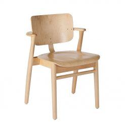 Artek Karmstol Domus Chair klarlackad björk