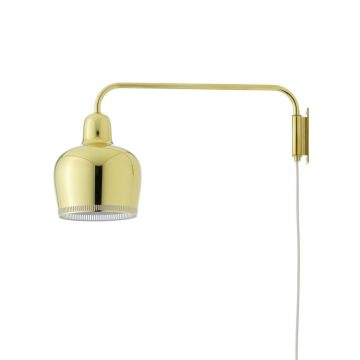Artek W A330S Golden Bell Vägglampa