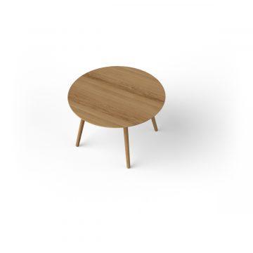 Via Copenhagen Eat round table 115 oak natural oil