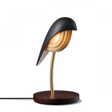 Bird bordslampa Onyx Black