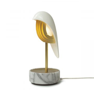 Chirp Bird lampa whitw Marble